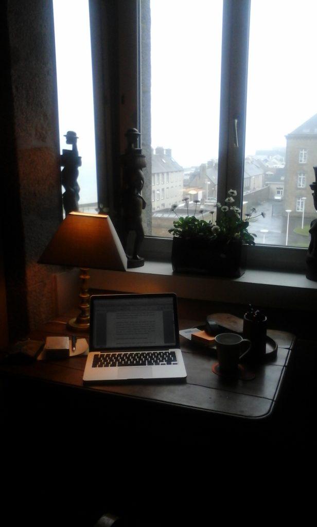 Mi escritorio en Granville